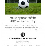 Adirondack Bank: Redeemer Cup Platinum Sponsor